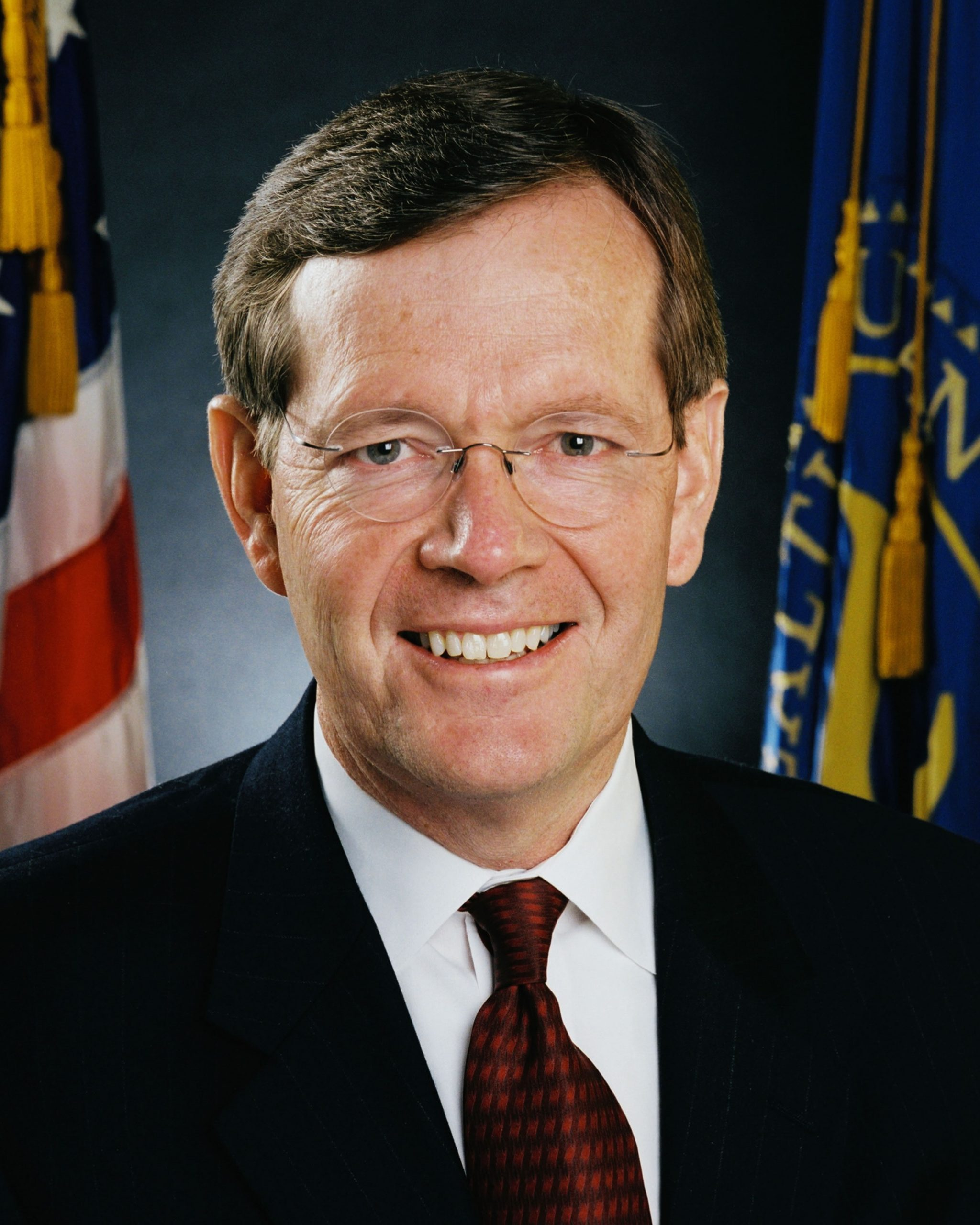 Secretary of the U.S. Department of Health and Human Services, Michael O. Leavitt.
