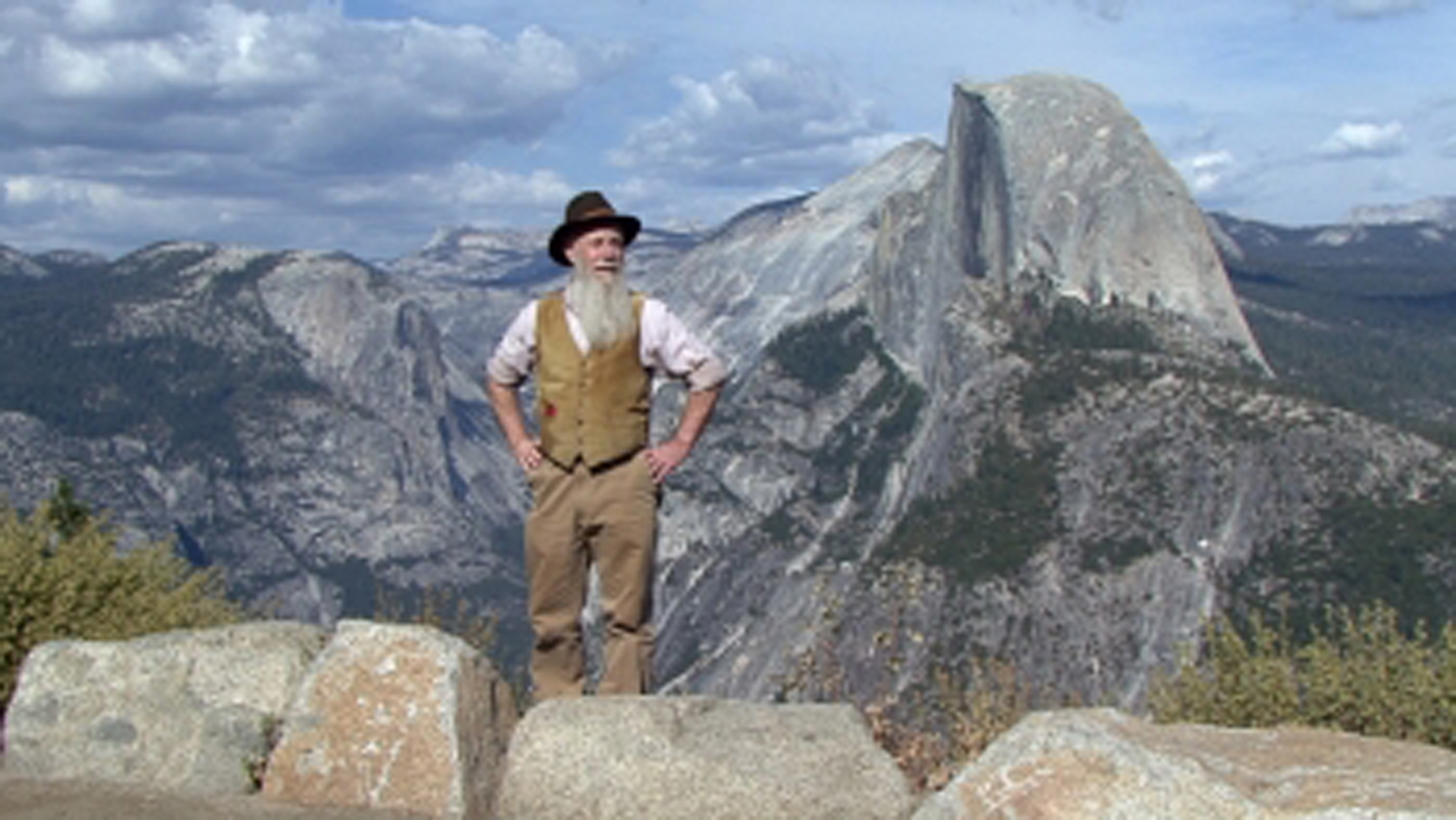 """Lee Stetson, known for his one-man show based on the life of naturalist John Muir, will  perform at the symposium """"Speaking Up and Speaking Out: Working for Social and Environmental Justice through Parks, Recreation, Tourism and Leisure."""""""
