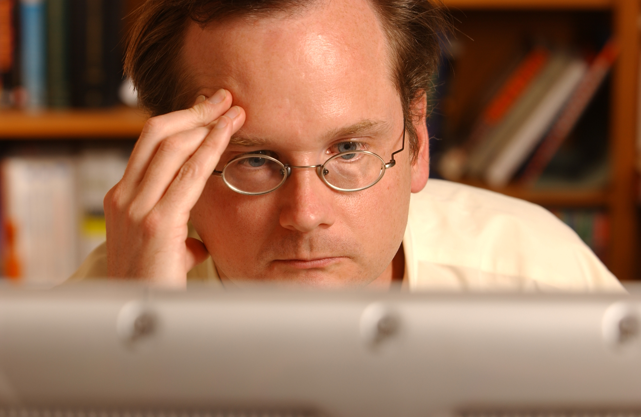 Lawrence Lessig professor of law and John A. Wilson Distinguished Faculty Scholar Stanford University Law School