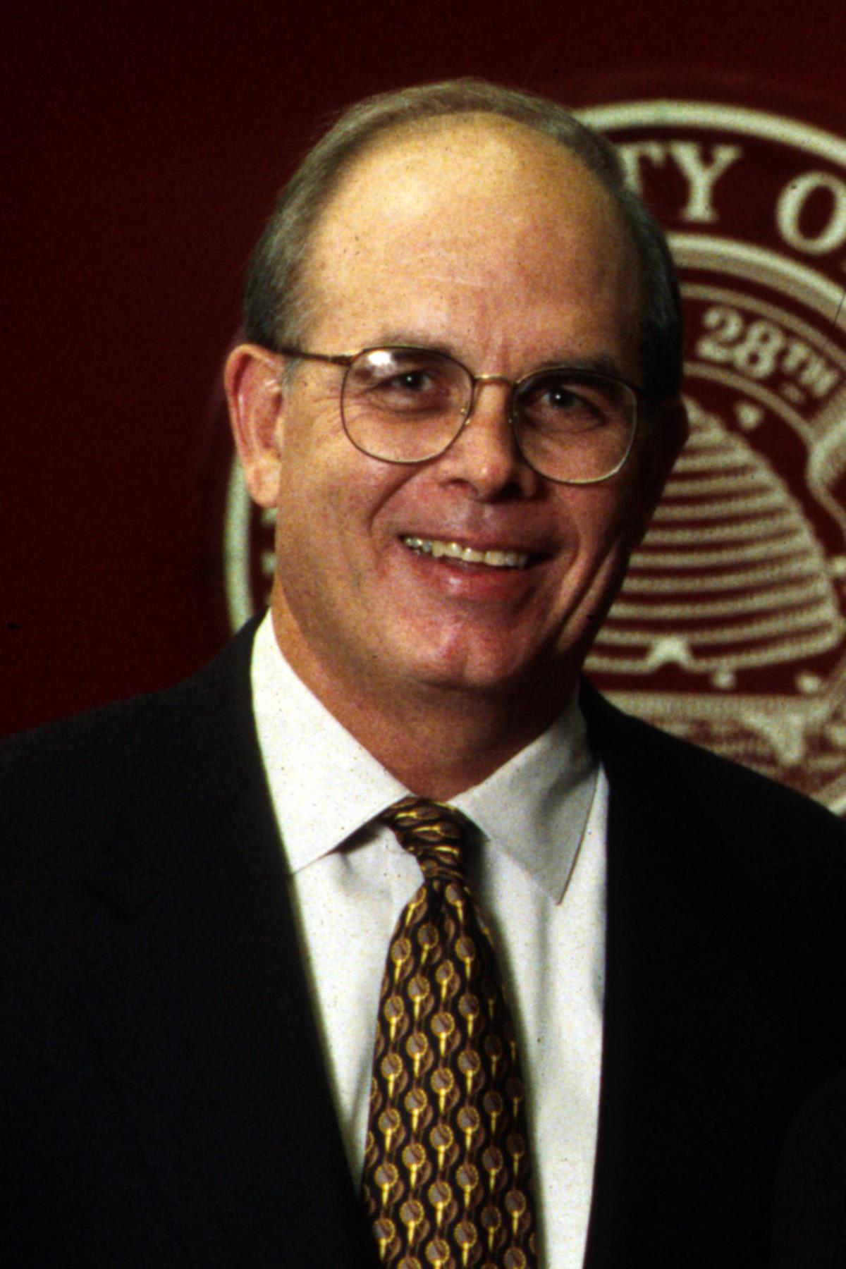 University of Utah President, J. Bernard Machen