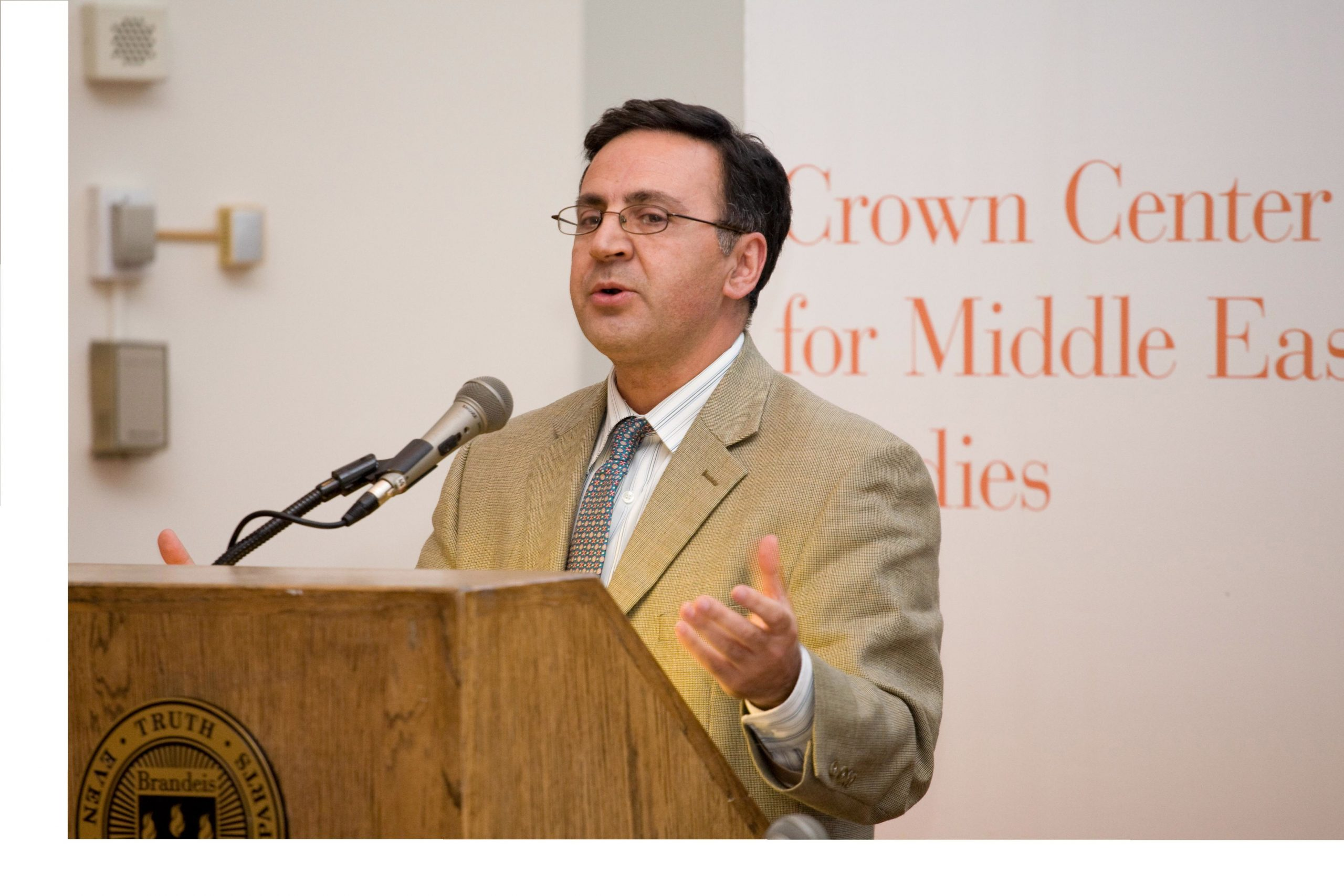 Dr. Nader Habibi of Brandeis University will give a community talk examining the current economic and political situation inside the Islamic Republic of Iran on Saturday, Sept. 19.
