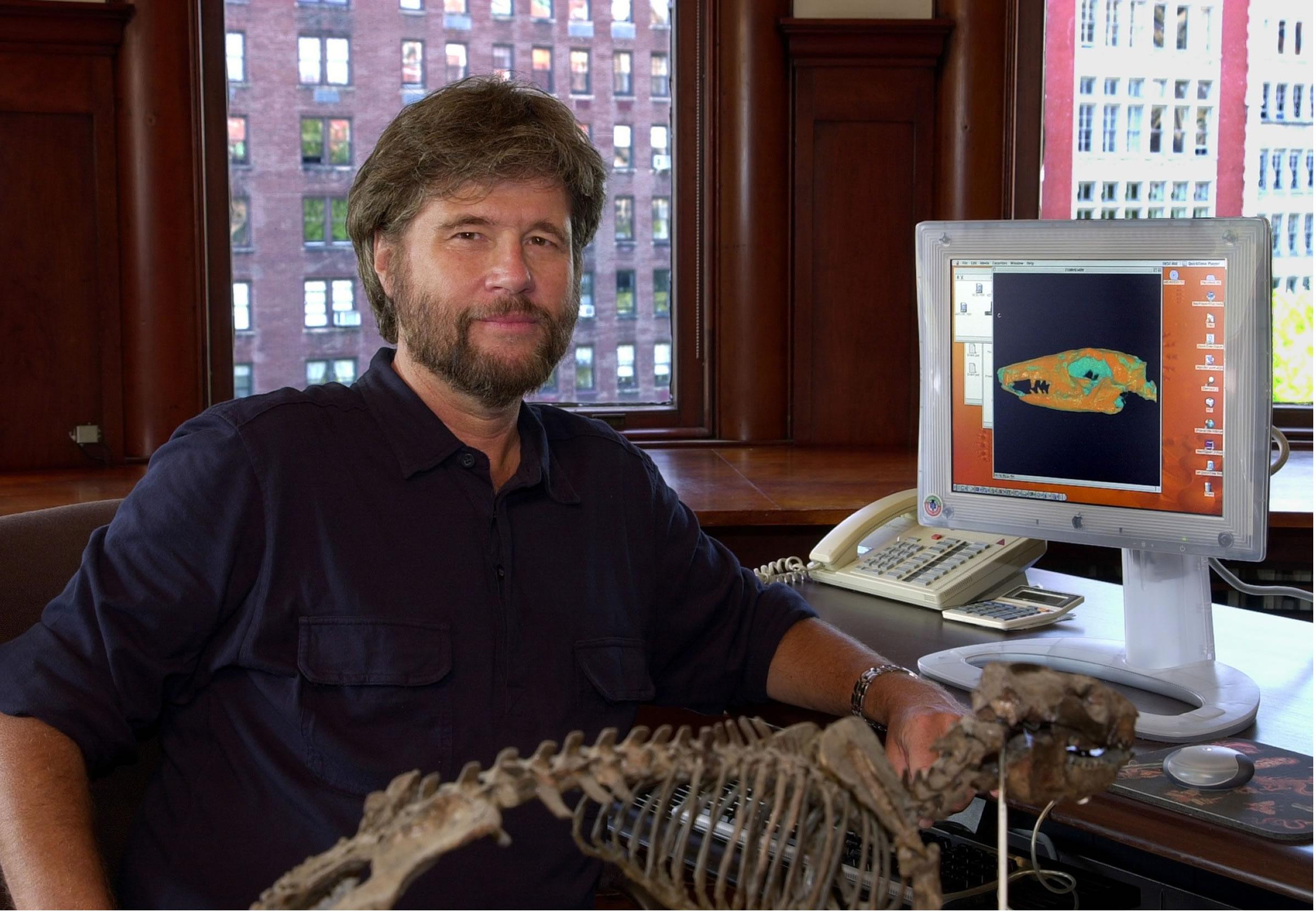 Paleontologist Michael Novacek