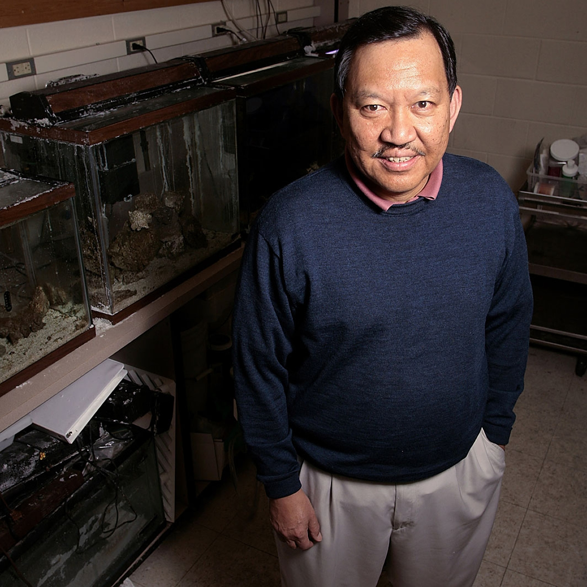 """Baldomero """"Toto"""" Olivera, a University of Utah biologist, is among 20 new """"Million-Dollar Professors"""" named by the Howard Hughes Medical Institute in a program that emphasizes teaching to bring bright young people into science."""