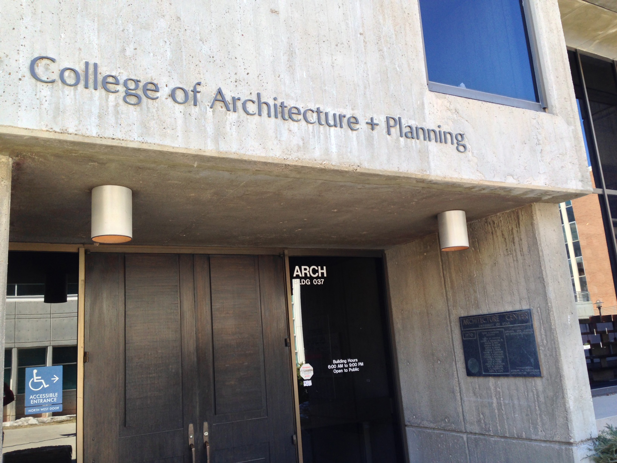 College of Architecture + Planning.
