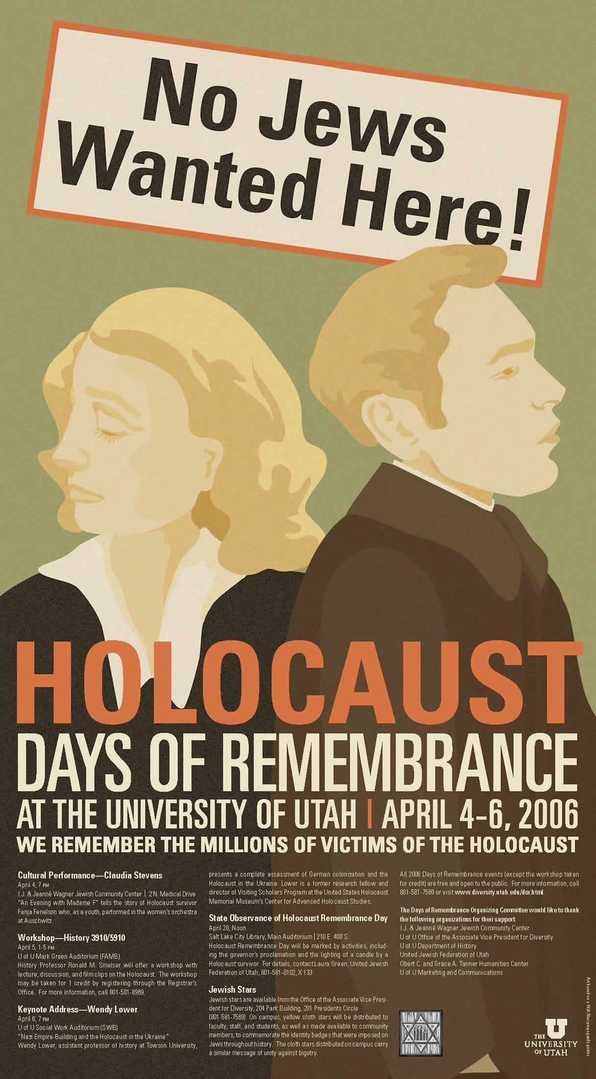 Days of Remembrance poster