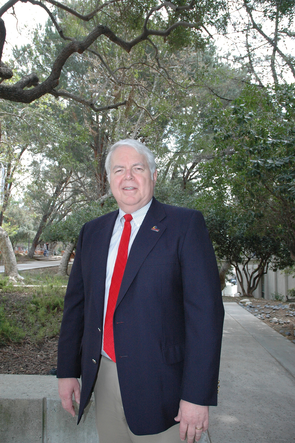 Robert K. Wilson, project manager for NASA's Spitzer Space Telescope.