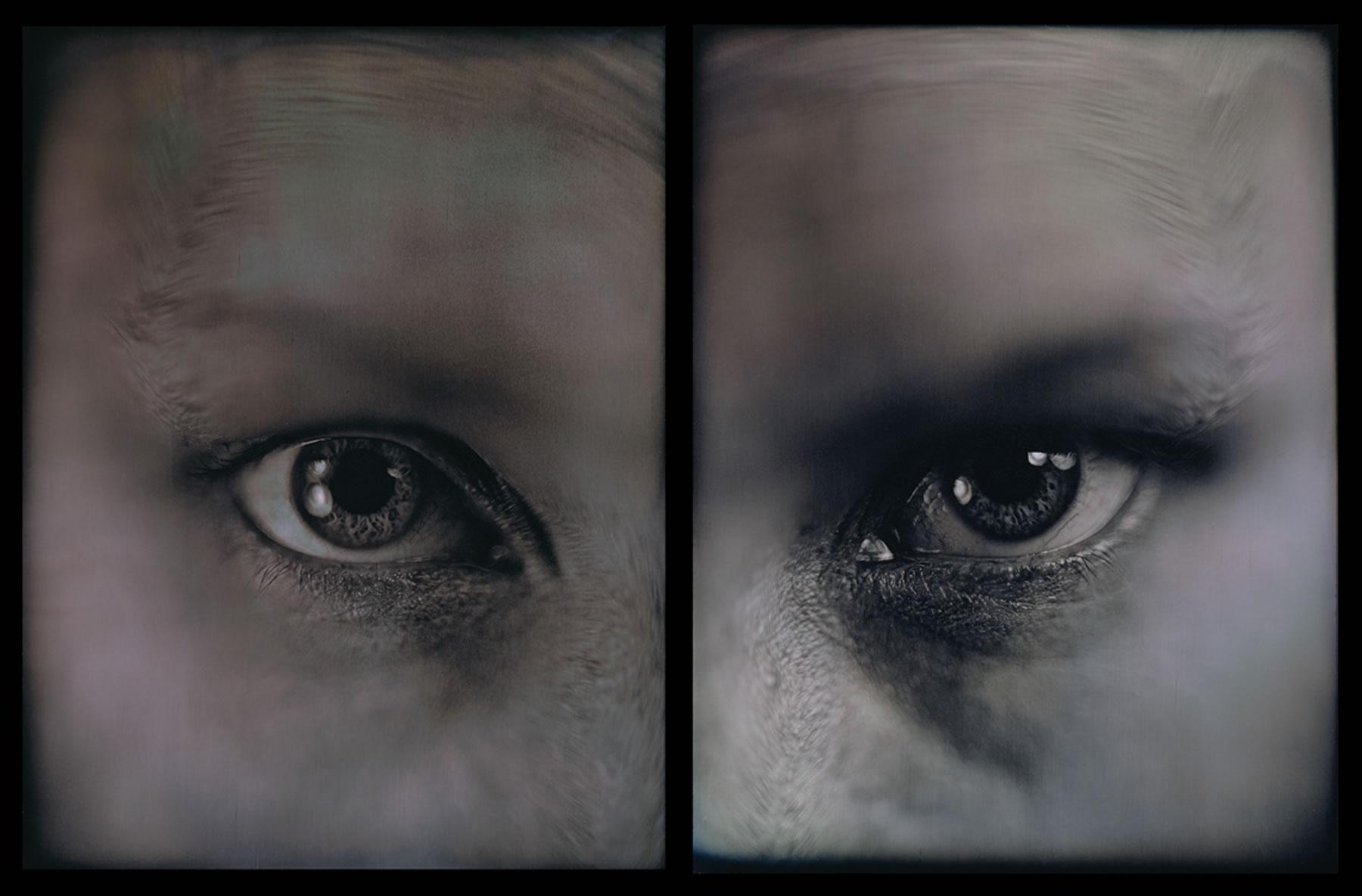 Untitled (Anatomical Study), 2001, 8 1/2 x 13 1/2, (2 Whole Plate Daguerreotypes)