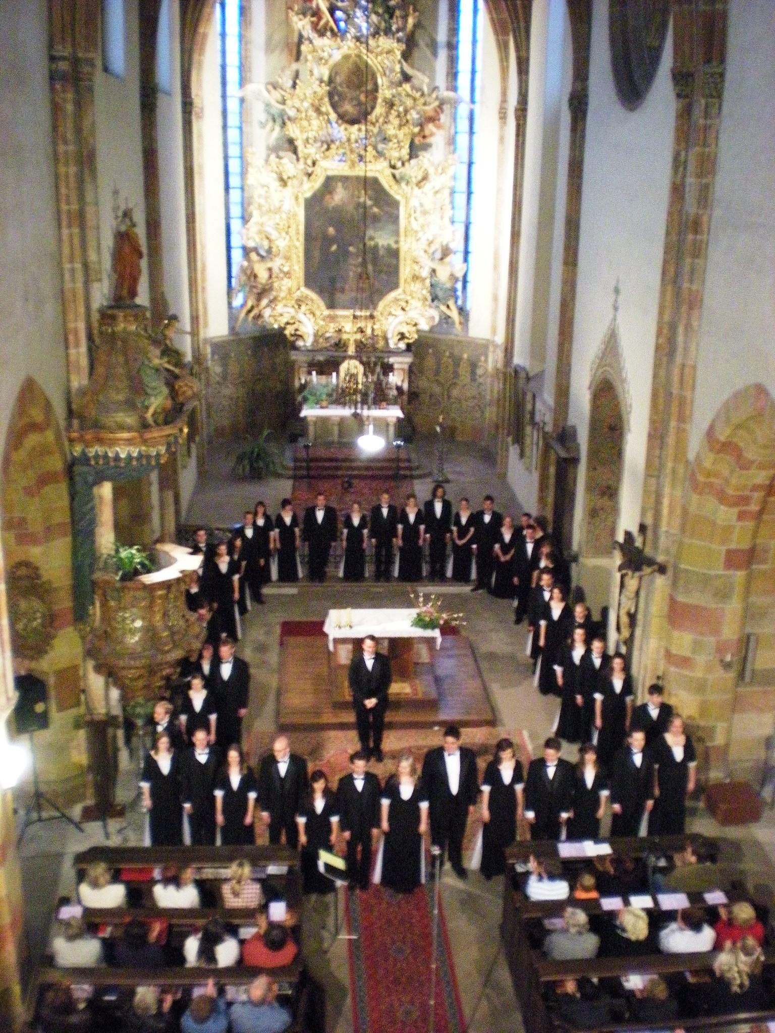 U Singers in Nymburk, Czech Republic