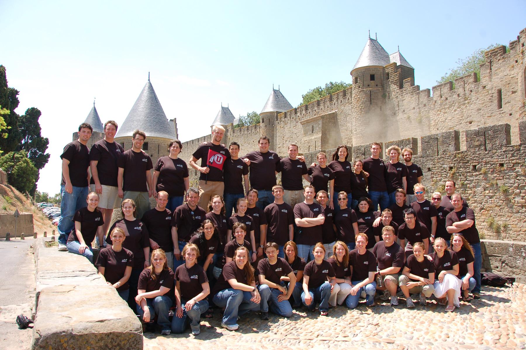 University of Utah Singers in Carcassonne, France