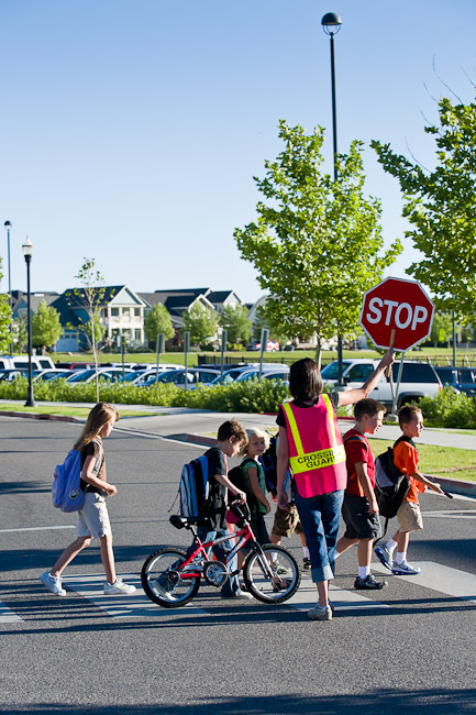 Melissa Napier and researchers at the University of Utah found that parents living in the less walkable community agreed that more barriers to walking existed than their own children did.