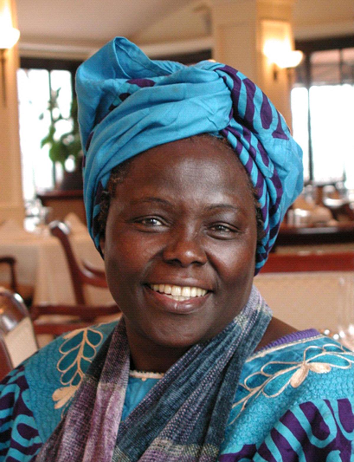 Nobel Laureate Wangari Maathai will speak at the University of Utah on Saturday, April 18.