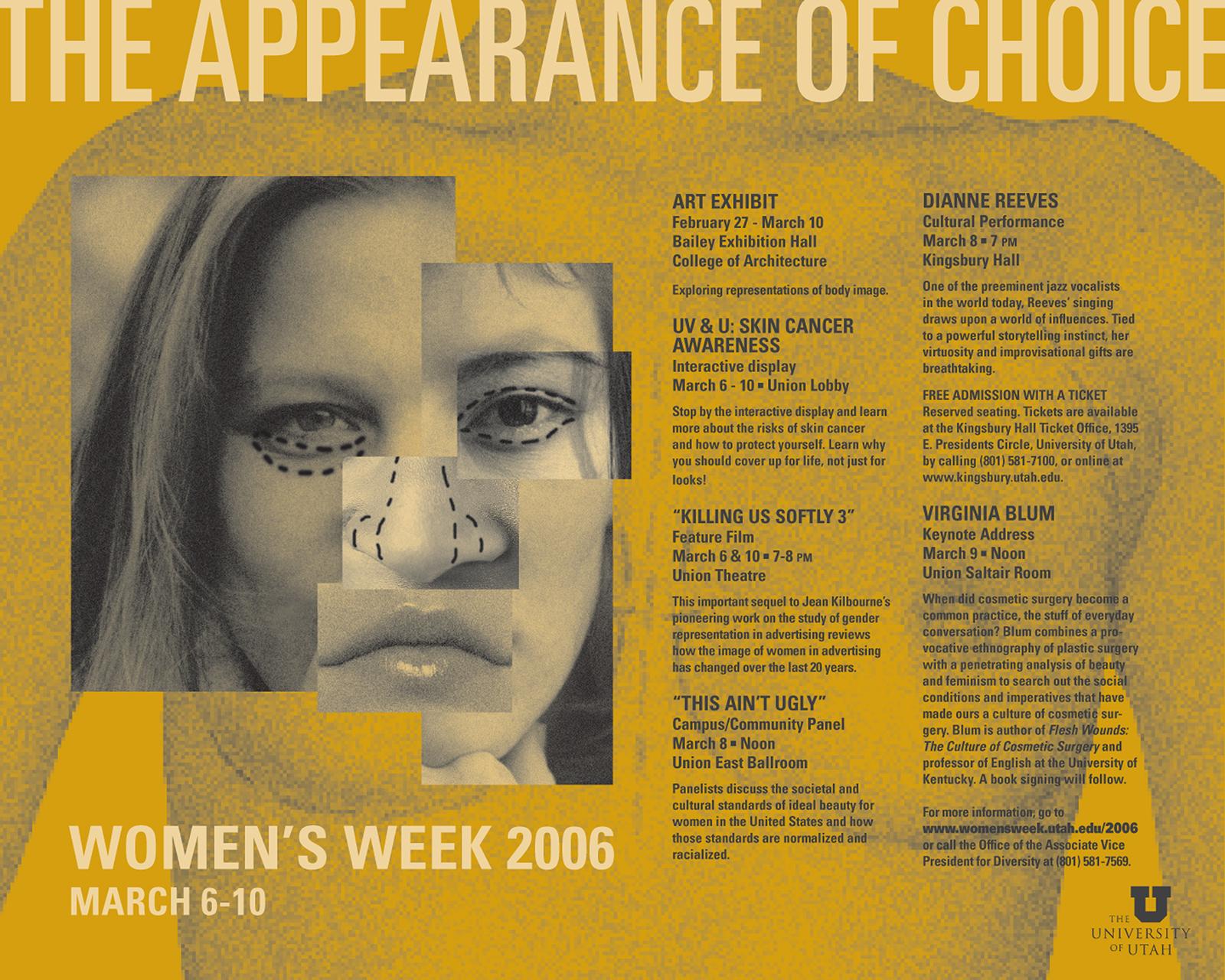 Women?s Week 2006 Poster